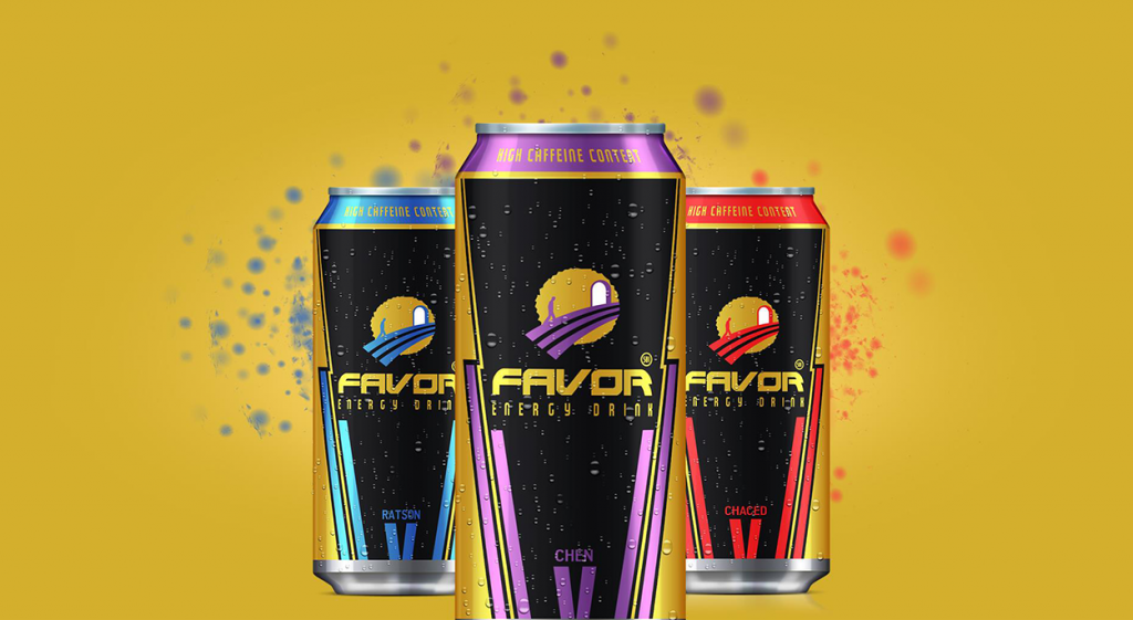 Favor Energy Drink
